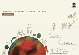 Living The Future- WIPRO'S SUSTAINABILITY REPORT 2009-10