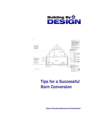 Top tips for a having a successful barn conversion