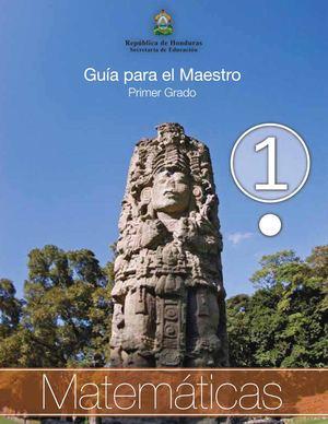 Calaméo - 1er Grado Guia del Maestro - Matematicas