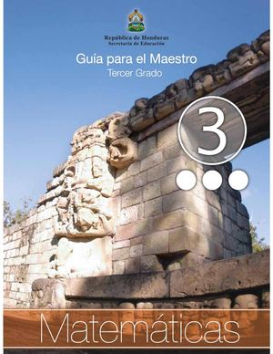Calaméo - 3er Grado Guia del Maestro - Matematicas