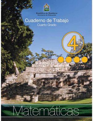 Calaméo - 4to Grado - Cuaderno de Trabajo - Matematicas