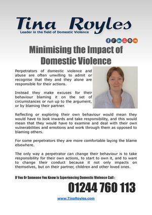 Minimising the Impact of Domestic Violence
