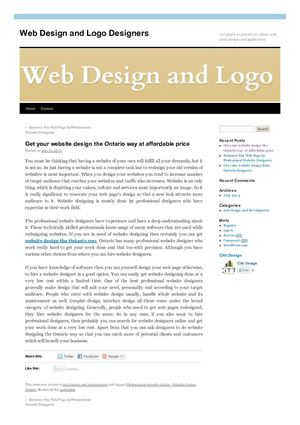 Website Design The Ontario Way
