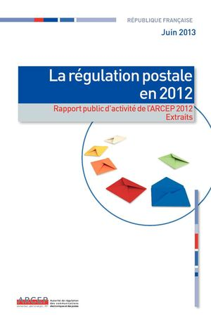 La régulation postale en 2012