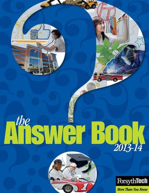 The Answer Book 2013-14