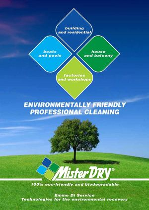 Cleaner products Mister Dry