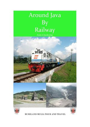 Around Java By Railway - Anticlockwise