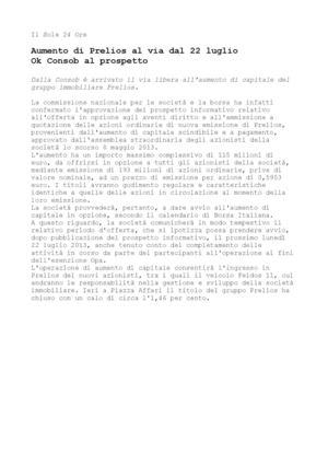 5ff390ca4e Calaméo - Feidos 11 di Massimo Caputi - Ok Consob a aumento capitale ...