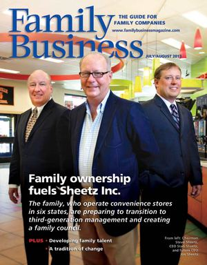 Family Business Magazine--July/August 2013