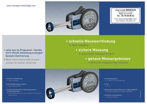 K-Mesureur digital 3 touches Oditest -intertest mesurer INTER/EXTER