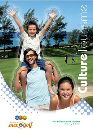 Catalogue Mer & Golf - Culture Tourisme.