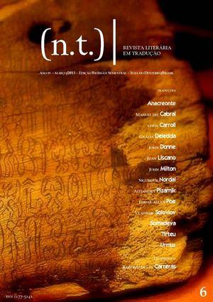 Calamo nt revista literria em traduo 6 nt revista literria em traduo 6 fandeluxe Image collections