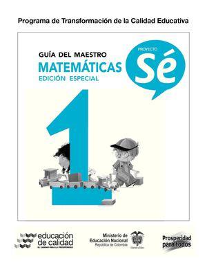 Calaméo - Guía del Maestro de Matemáticas 1°