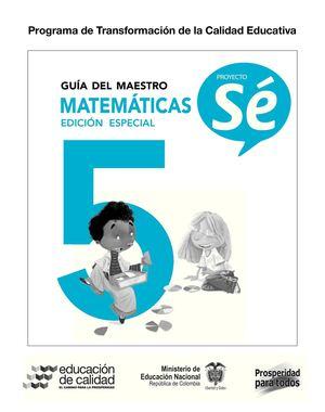 Calaméo - Guía del Maestro de Matemáticas 5°