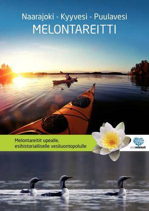 Calameo Naarajoki Kyyvesi Puula Melontakartta
