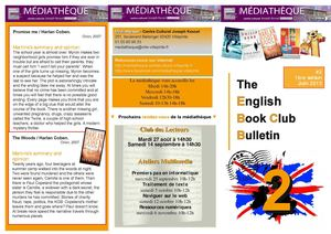 The English Book Club Bulletin # letter 2 - june 2013