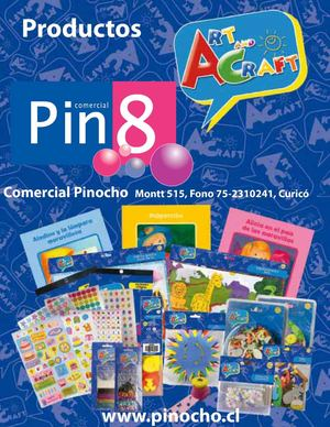 Catálogo Art and Craft Comercial Pinocho