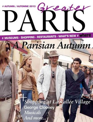 Greater Paris Magazine - Autumn   Automne 2013 français anglais A découvrir  ! 7bc40b3c59d