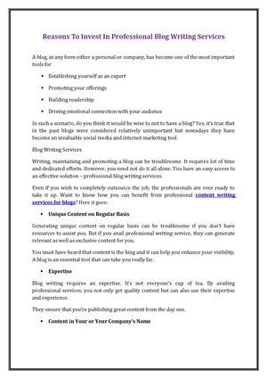 Essay writing online