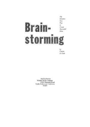 Calamo Brain Storming