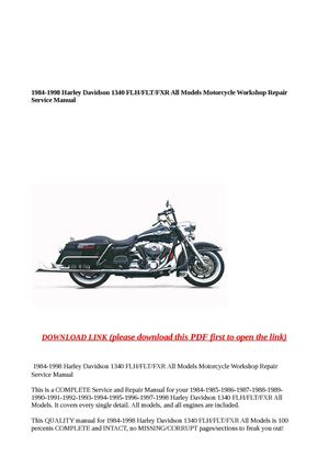 1998 Harley Evo Engine Diagram - Wiring Diagrams on