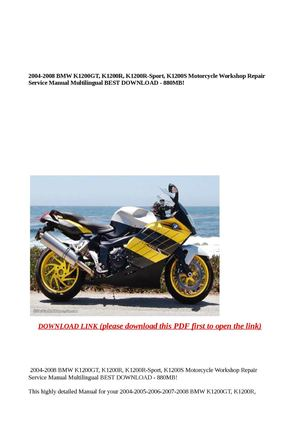 Fine Wiring Diagram 2008 Bmw K1200 Wiring Diagram Wiring Digital Resources Minagakbiperorg