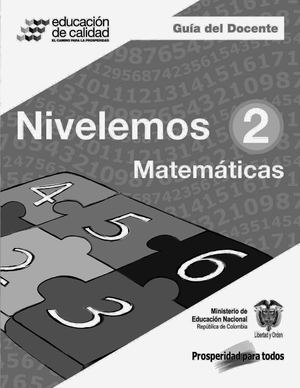 Calaméo - Nivelemos- Guía del docente de Matemáticas 2°