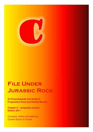 Calamo File Under Jurassic Rock C Temporary 2011