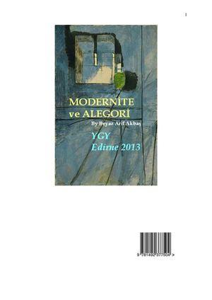 Calaméo Modernite Ve Alegori