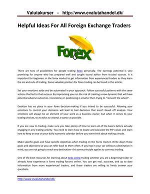 valuta valuta forex