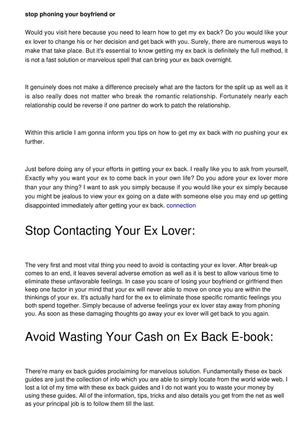 how to get my ex back when hes dating someone else