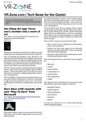 Calamo Vr Zone Tech News For Geeks