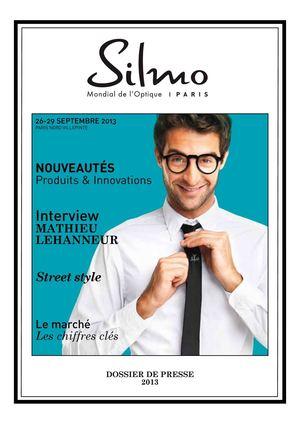 7527a868ba3e66 Calaméo - Dossier de presse - Silmo 2013