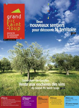 Journal du Grand Pic Saint-Loup - n°7 septembre 2011