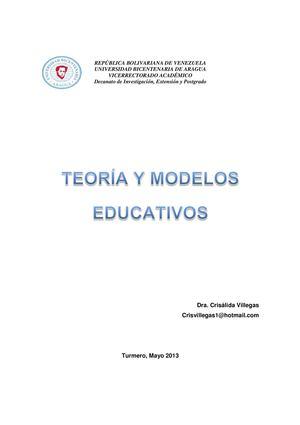 Calaméo - Teorías y Modelos Educativos