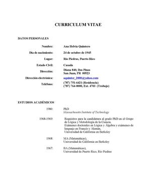 Calameo Curriculum Vitae A H Quintero 2013