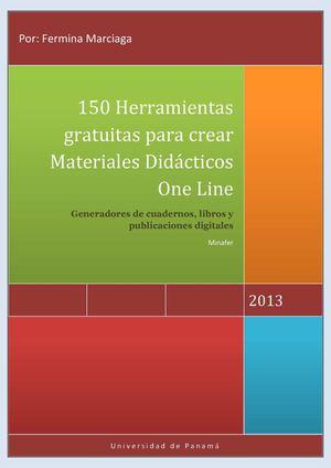 Calaméo - 150 Herramientas para gratuitas para crear Materiales ...