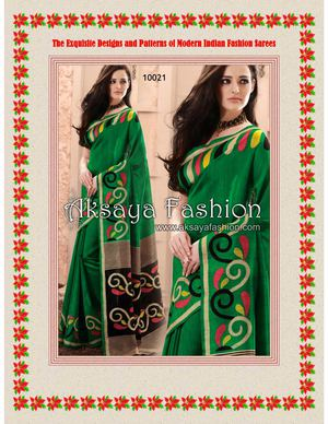 The Exquisite Designs and Patterns of Modern Indian Fashion Sarees
