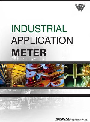 Industrial Application Meters