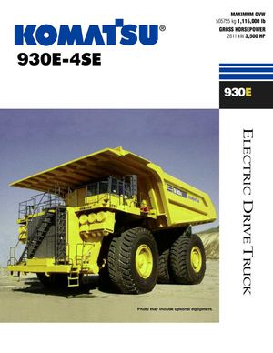 Rigid_Dump_Trucks - 930E-4SE