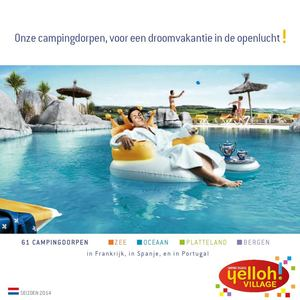 Brochure Yelloh! Village 2014 NL