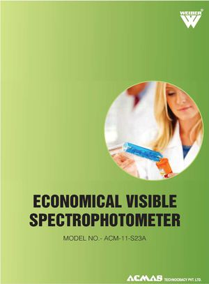 Economical Visible Spectrophotometer
