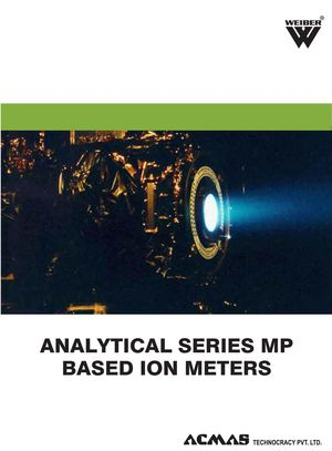 Analytical Series MP Based Ion Meters Category