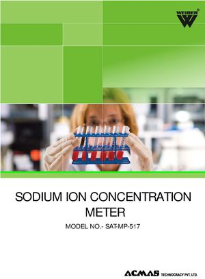 Sodium Ion Concentration Meter