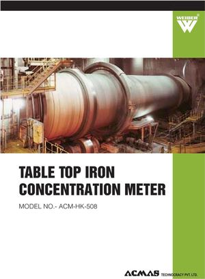Table Top Iron Concentration Meter