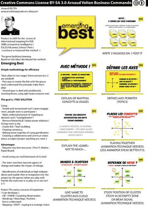 EMERGINGBEST : Simply the best Brainstorming process