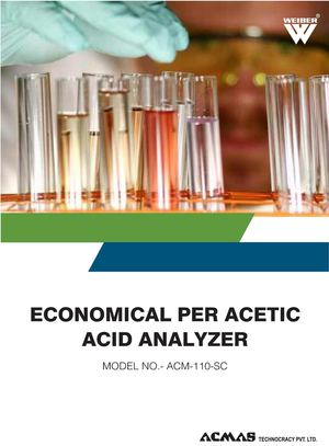 Economical Per Acetic Acid Analyzer