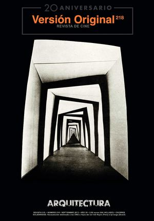 Calaméo - Revista de Cine Versión Original 218. Arquitectura