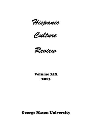2013 Hispanic Culture Review