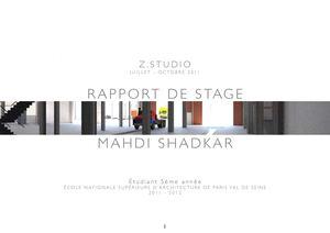 mahdi shadkar rapport de stage 2012